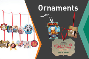Full Color Individualized Ornaments