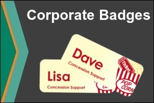 Dye Sublimation Printed Full Color Corporate Badges