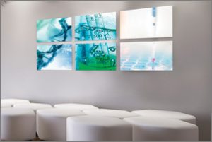 ChromaLuxe Metal Panels Make Great Hospital Wall Art